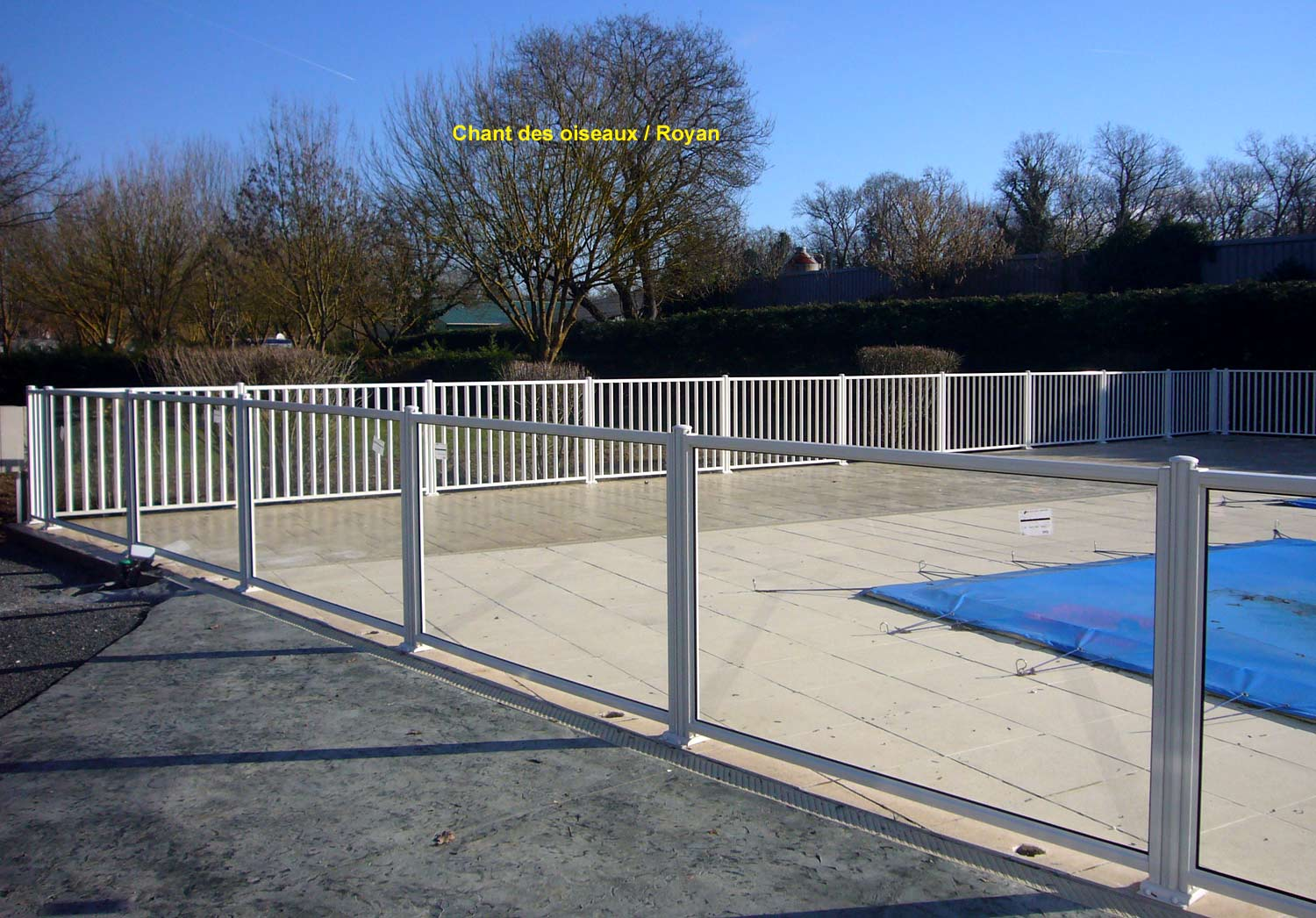 Page photo 164 r glages des l ments sur mesure de for Barriere de protection piscine