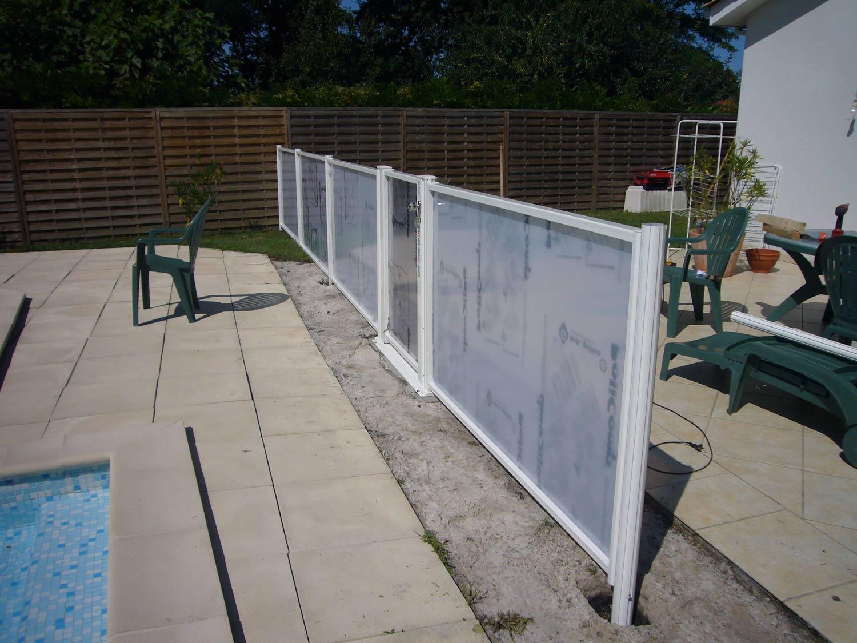 Photo 119 barrieres de piscine pour les grands campings - Barriere aluminium prix ...